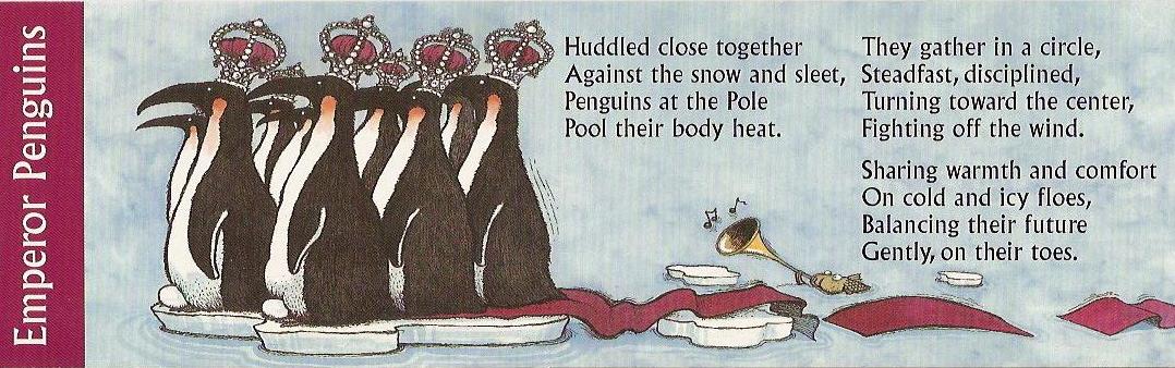 RunningAHEAD - Topic: Penguin Poetry Tuesday